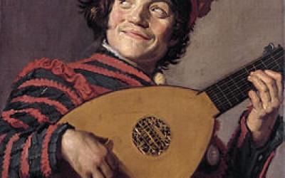 Frans Hals- Luitspeler