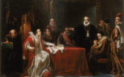 J. Israëls: Willem van Oranje en Margaretha van Parma