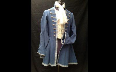 18e eeuwse jas met jabot