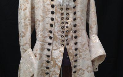18e eeuw jas met juste-au-corps